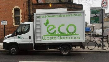 ecowaste rubbish removal truck